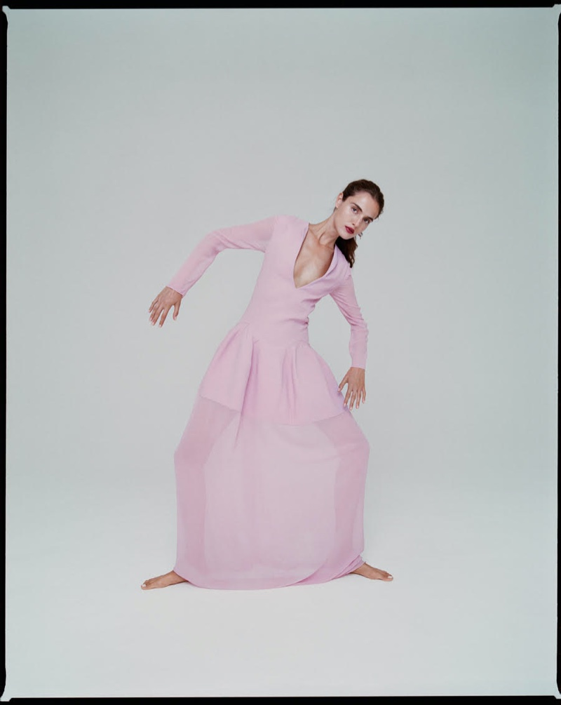 Blanca Padilla Enchants in Givenchy for Glamour Italy