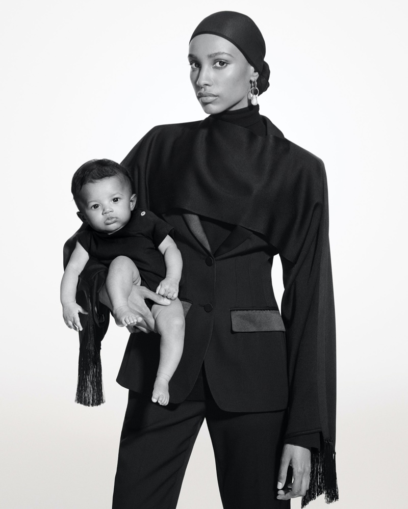 Ikram Abdi Omar fronts Burberry Holiday 2019 campaign