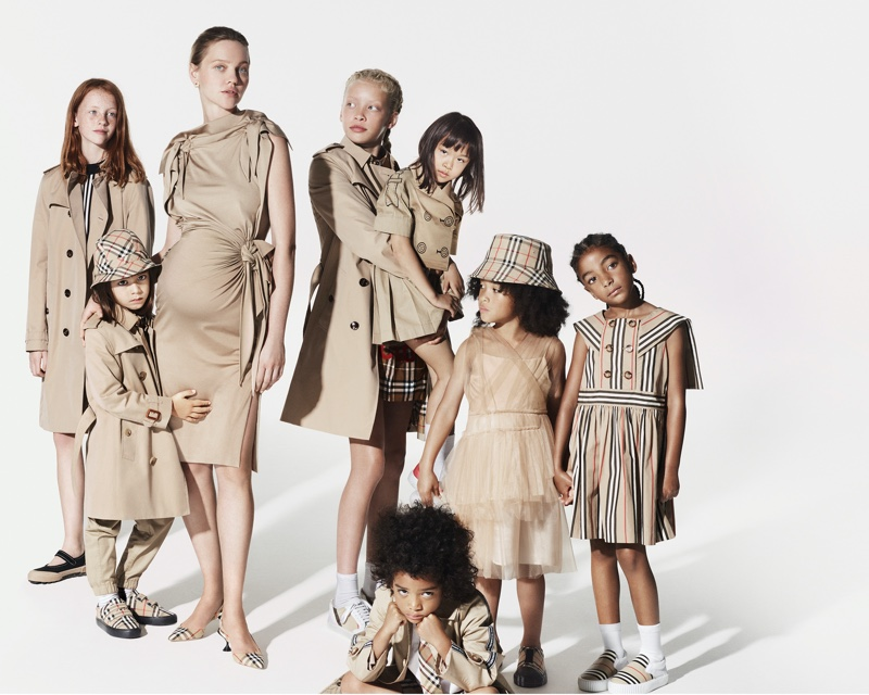 An image from Burberry's Holiday 2019 advertising campaign