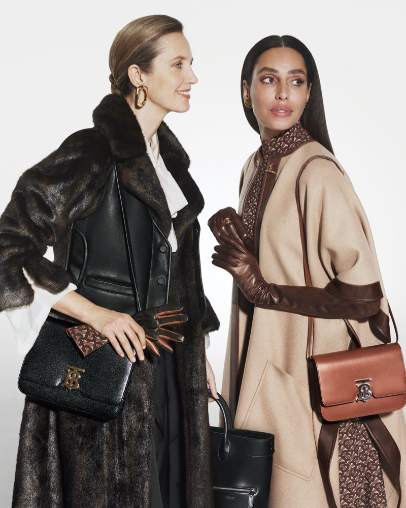 Lea T. fronts Burberry Holiday 2019 campaign