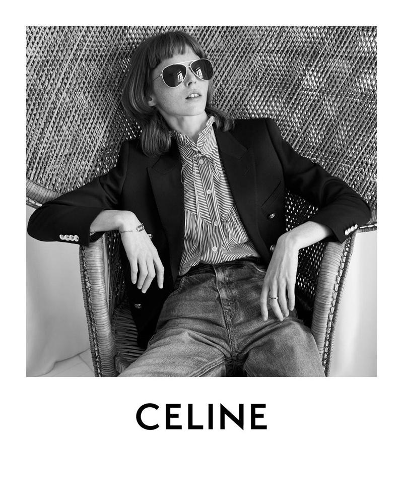 Hedi Slimane captures Celine resort 2020 campaign