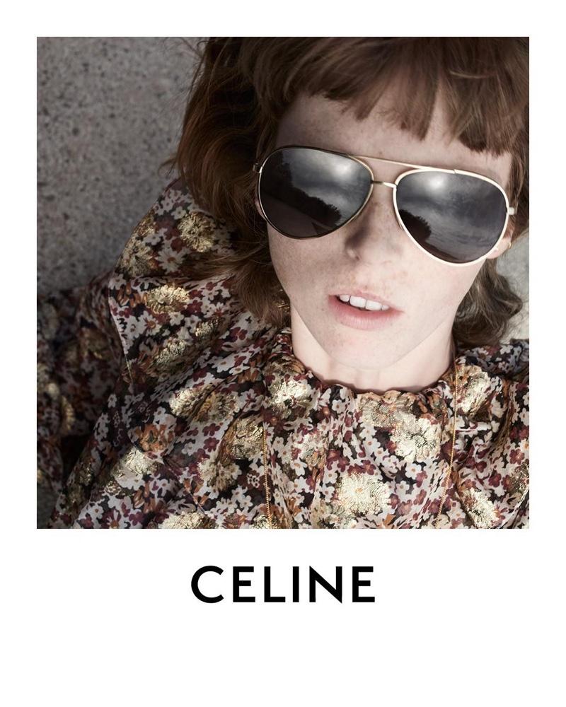 Image result for celine eyewear campaign 2020
