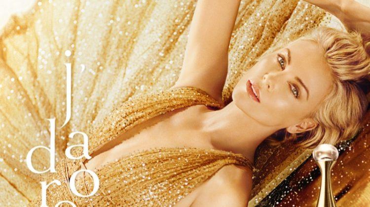 Charlize Theron stars in Dior J'adore Bath Ritual campaign