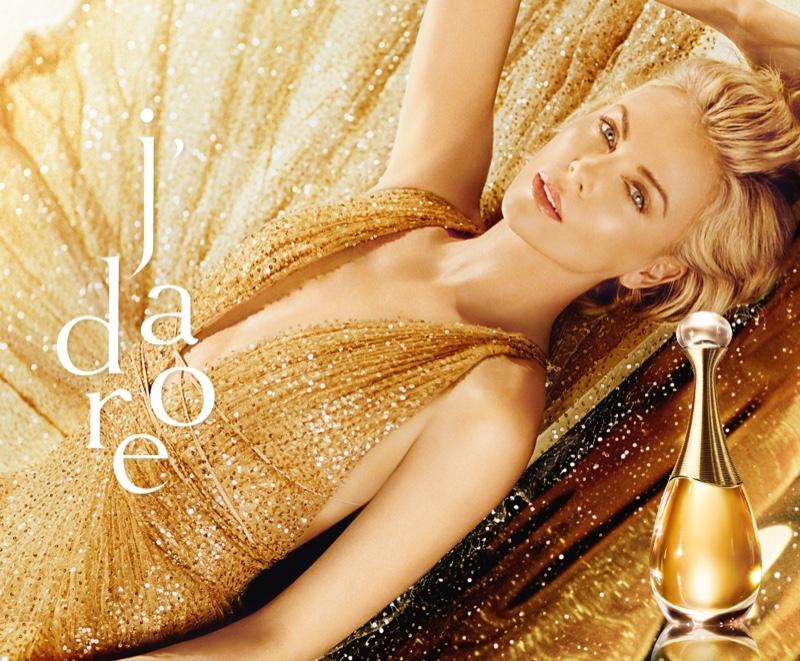 Charlize Theron stars in Dior J'adore Perfume 2019 campaign