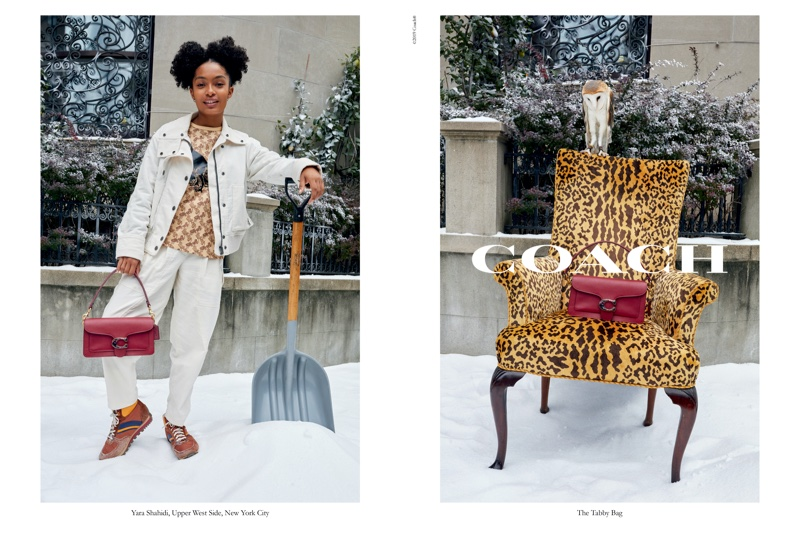 An image from Coach's holiday 2019 advertising campaign