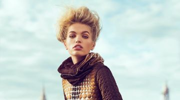 Daphne Groeneveld Wows in Jean Paul Gaultier for Woman Spain