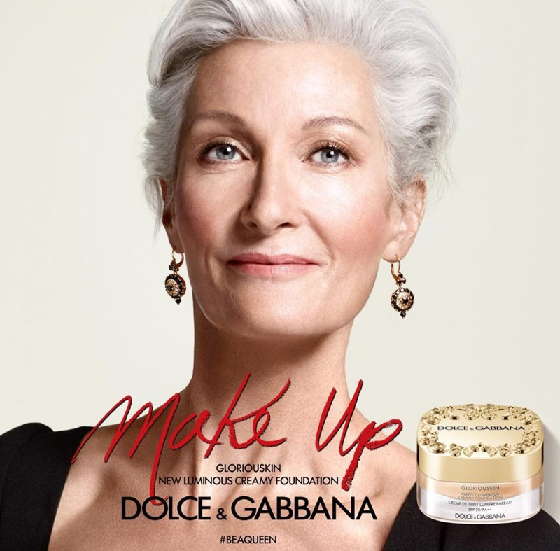 Catherine Loewe fronts Dolce & Gabbana #BeAQueen Makeup campaign