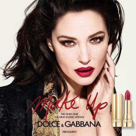 Monica Bellucci stars in Dolce & Gabbana #BeAQueen Makeup campaign