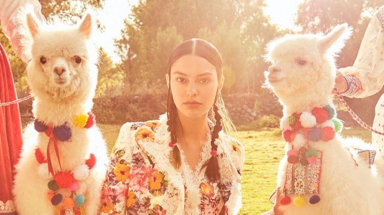 Elizabeth Salt Poses in Peru for Harper's Bazaar Mexico