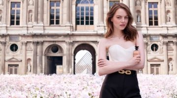 Emma Stone stars in Louis Vuitton Coeur Battant fragrance campaign