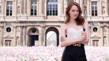 Emma Stone stars in Louis Vuitton Coeur Battant fragrance campaign