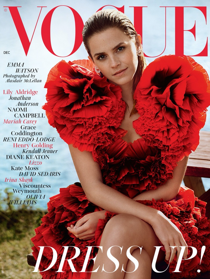 Emma Watson on Vogue UK December 2019 Cover