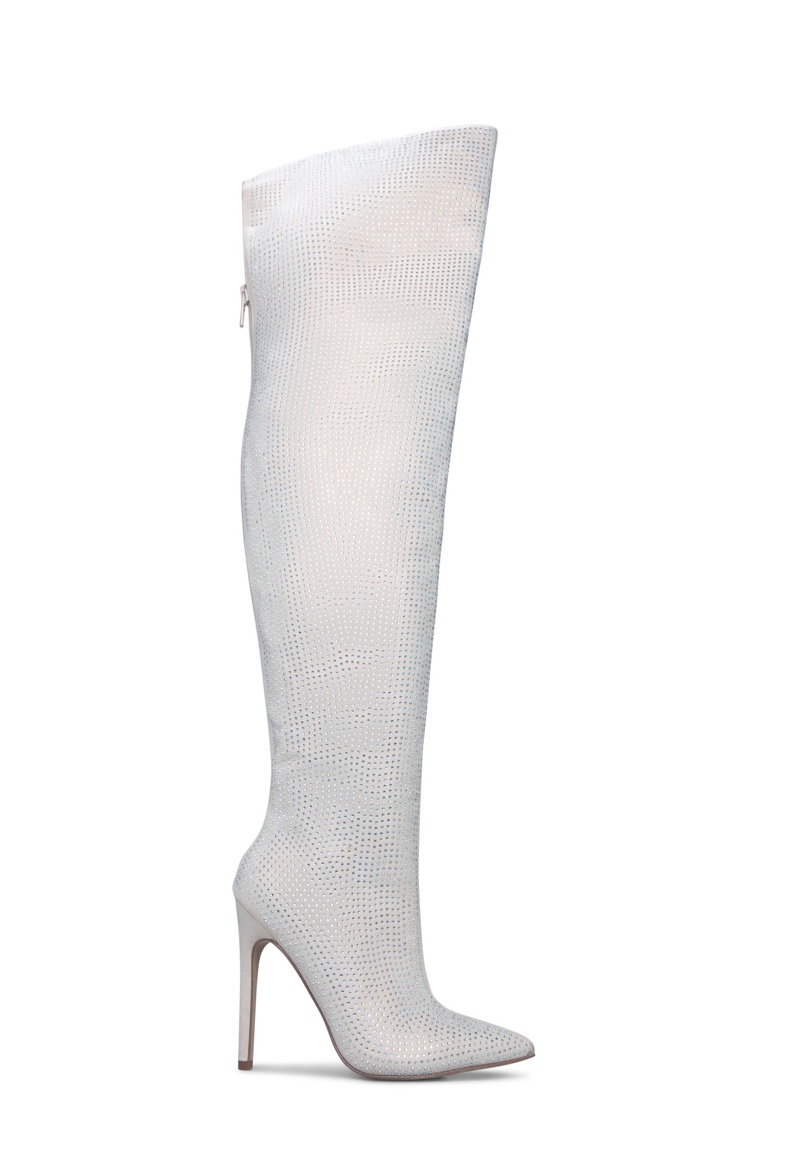 Erika Jayne x ShoeDazzle Charmed Over Knee Boot $99.95