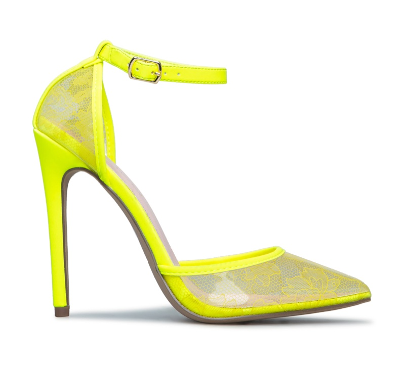 Erika Jayne x ShoeDazzle Roxi Transparent Pump $64.95