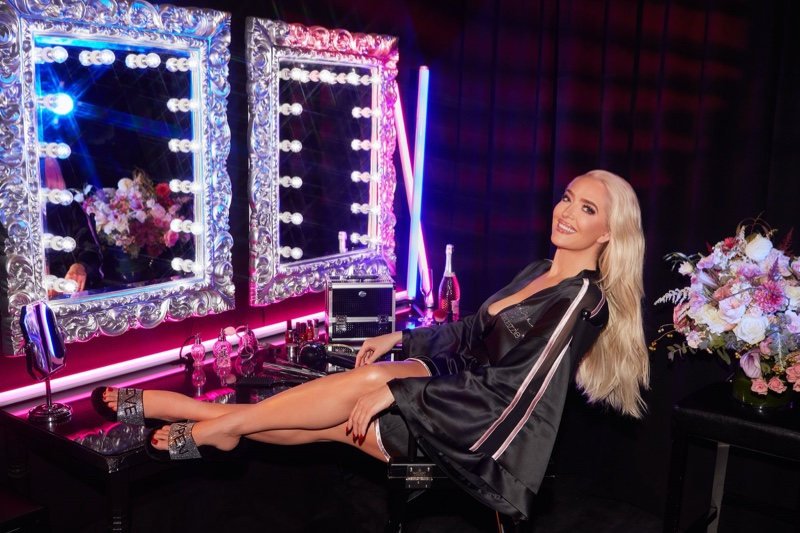 Erika Jayne stars in ShoeDazzle Holiday 2019 collaboration campaign