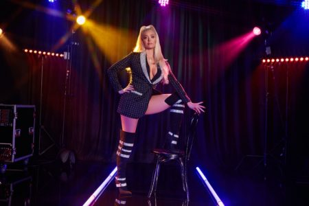 Erika Jayne wears Apollonia boots from ShoeDazzle collaboration