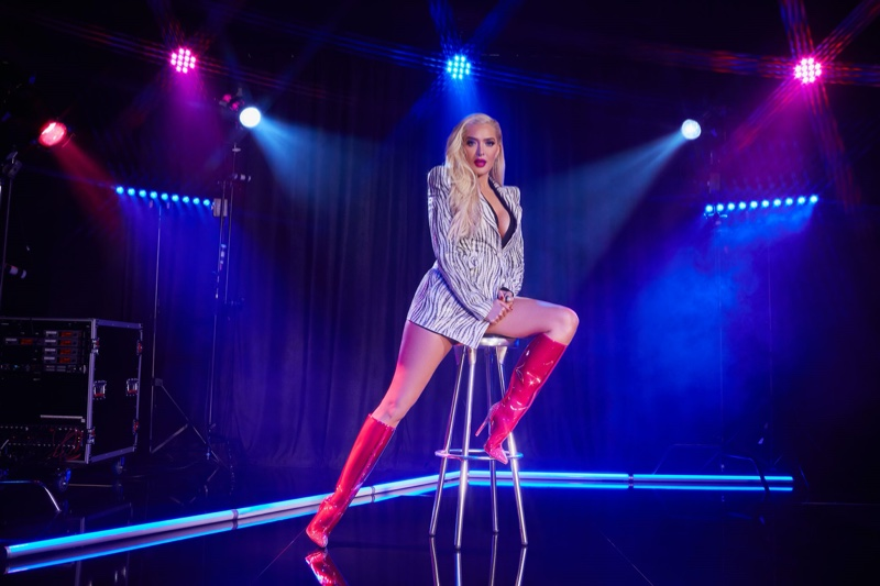 Erika Jayne fronts ShoeDazzle Holiday 2019 campaign