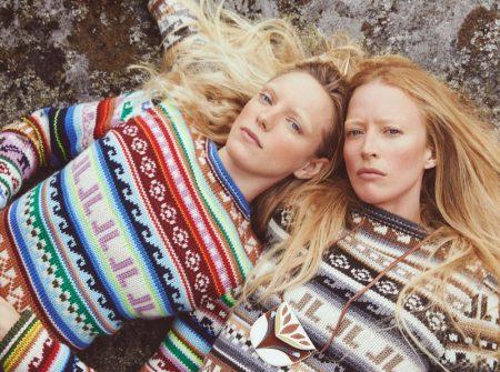 Erika Linder & Raquel Zimmermann Embrace Outdoor Style for Vogue Paris