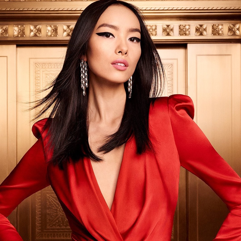 Fei Fei Sun fronts Estee Lauder Holiday 2019 campaign