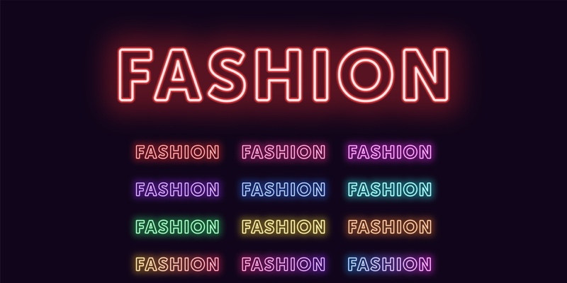 Fashion Neon Sign