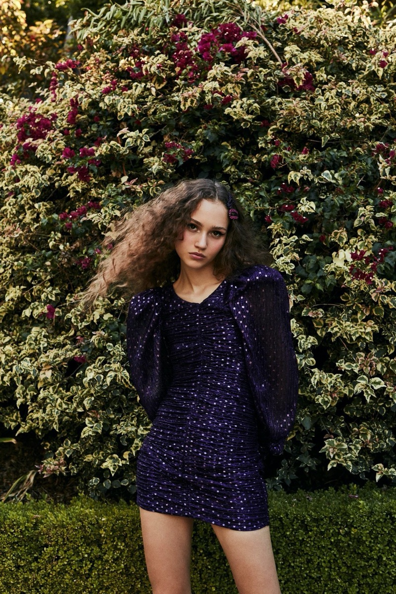 For Love & Lemons La Villette mini dress from holiday 2019 collection
