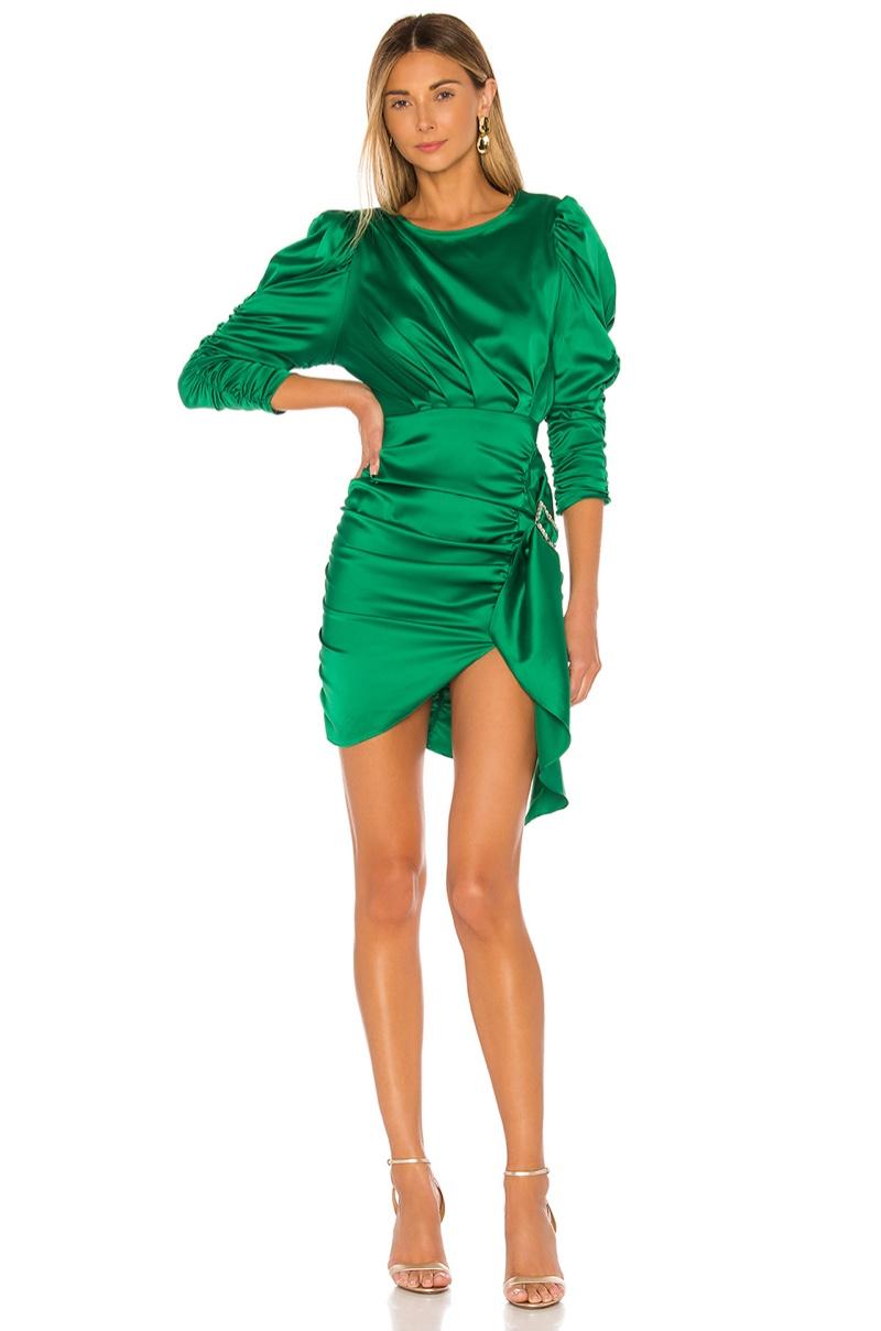 For Love & Lemons Isabeli Mini Dress $222