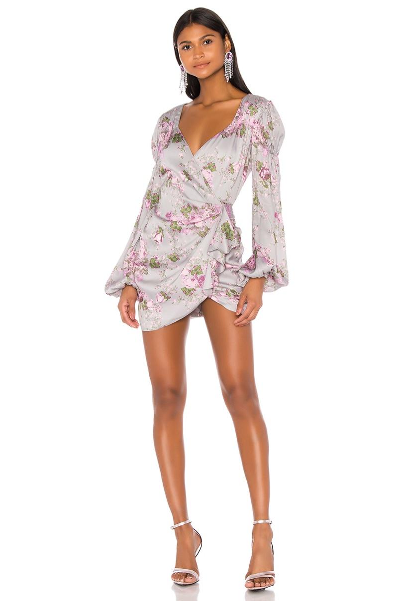 For Love & Lemons Jardin Floral Mini Dress $238