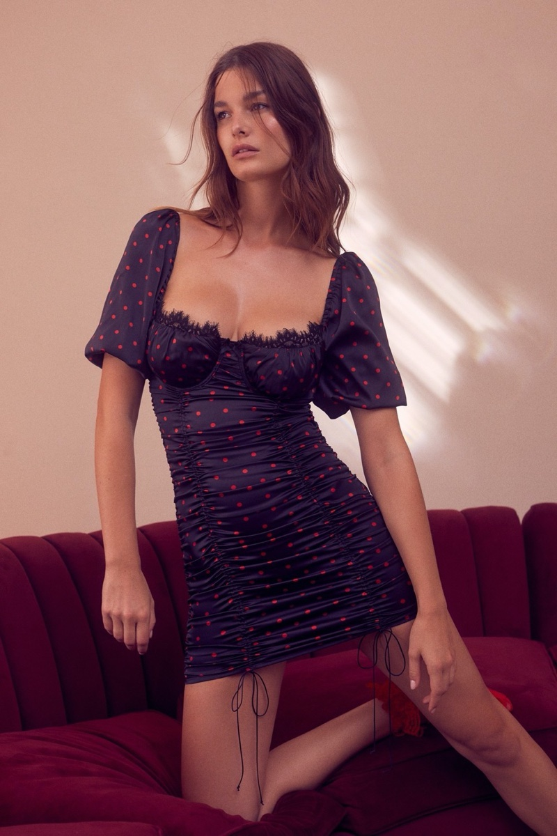 For Love & Lemons x Victoria's Secret Melrose dress