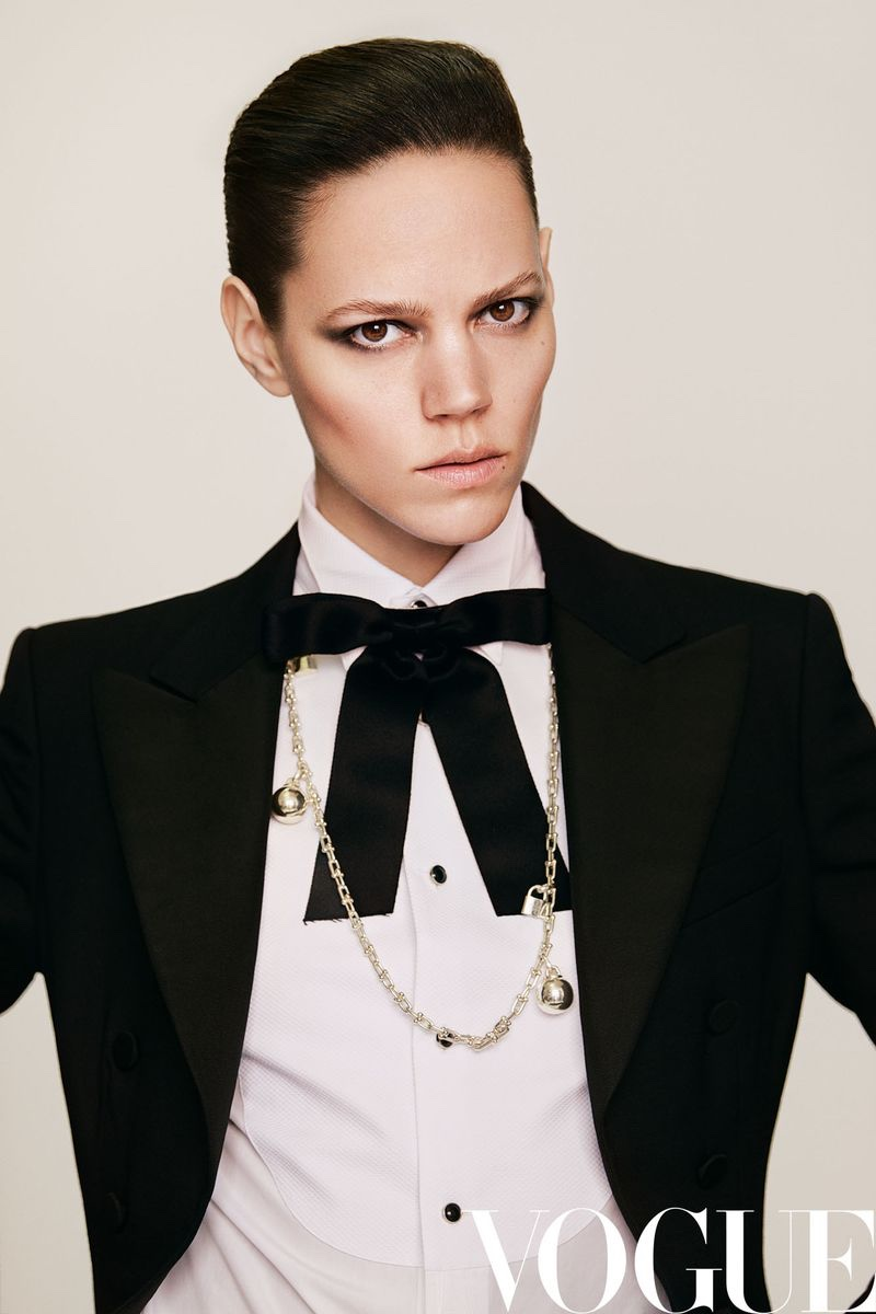 Freja Beha Erichsen Turns Up the Glam Factor for Vogue China