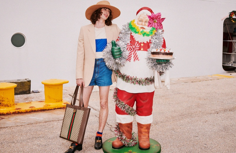 Harmony Korine photographs Gucci Holiday 2019 campaign