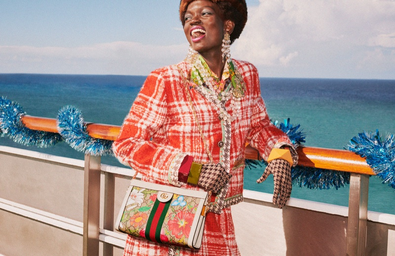 Colorful style stands out in Gucci Holiday 2019 campaign