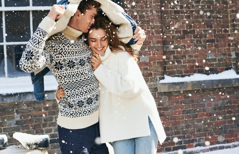 Andreea Diaconu fronts H&M Holiday 2019 campaign