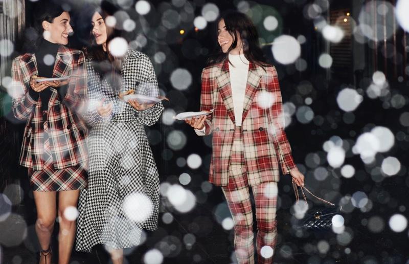 Giulia, Greta & Giorgia Tordini appear in H&M Holiday 2019 campaign