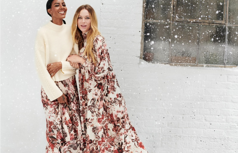 H&M unveils Holiday 2019 campaign with Hannah Ferguson and Maya Haile Samuelsson