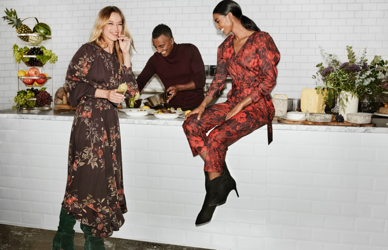 H&M focuses on prints for Holiday 2019 campaign