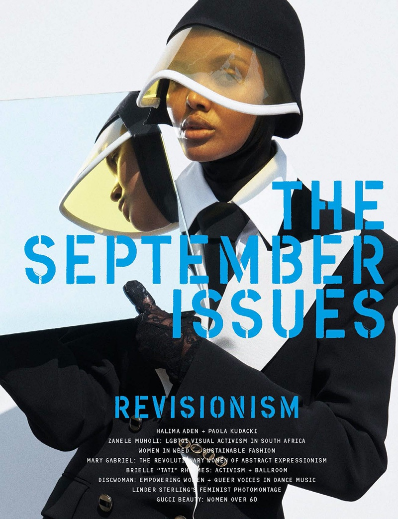 Halima Aden on The September Issues #4 Cover