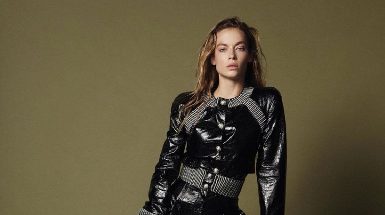 Hannah Ferguson Models the Fall Collections for Paper Magazine
