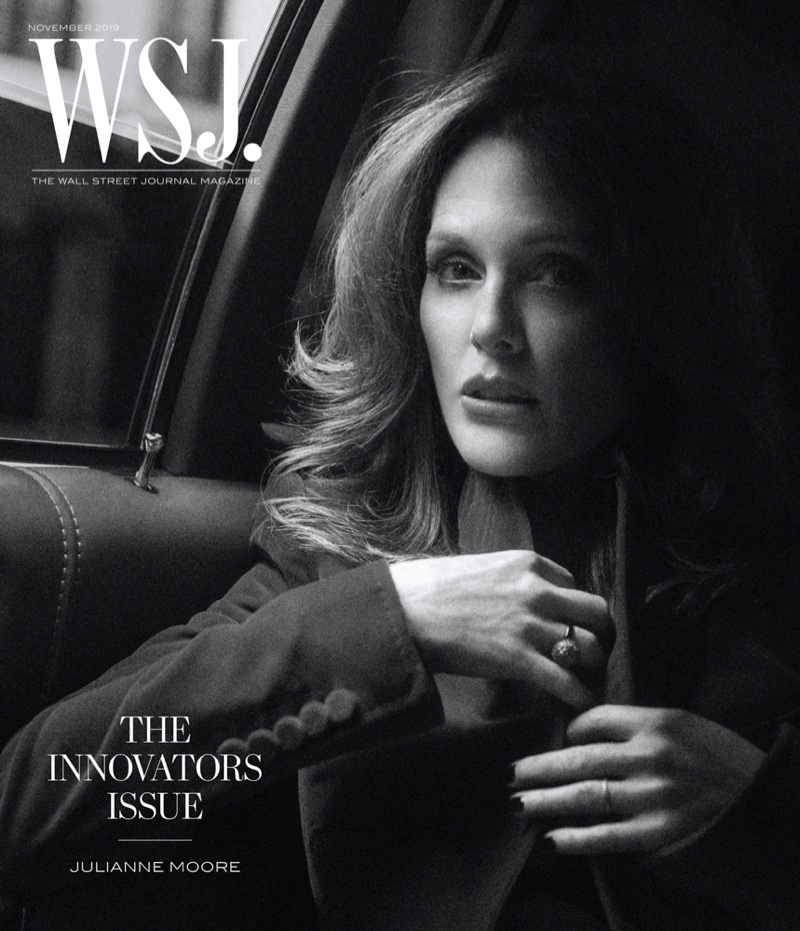 Julianne Moore on WSJ. Magazine November 2019 Cover
