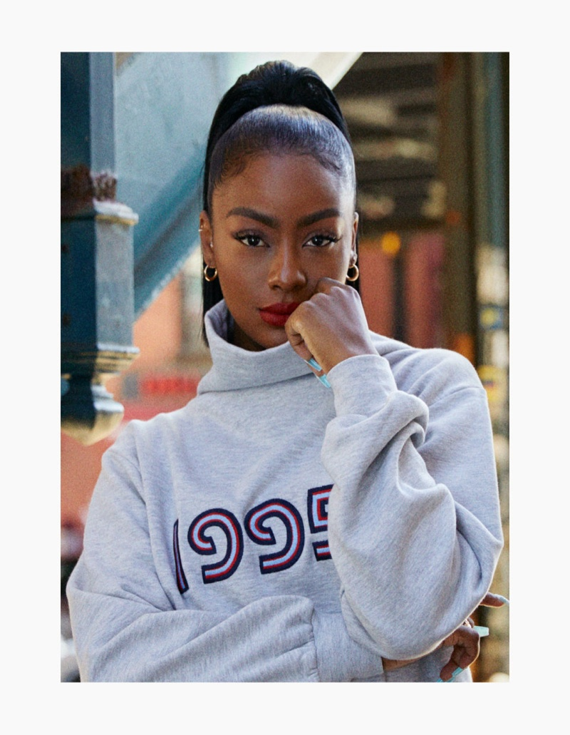 H&M taps singer Justine Skye for clothing collaboration