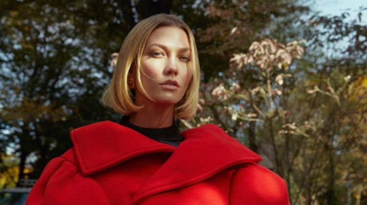Karlie Kloss Models Autumn Outerwear for Vogue Turkey