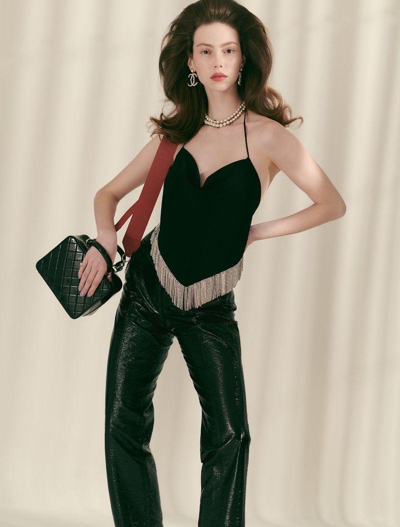 Lorena Maraschi Models Statement Styles for Vogue Brazil