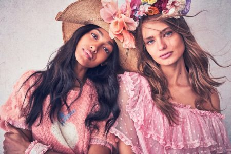 Anna Mila, Melie & Caroline Look Dreamy in LoveShackFancy Resort 2020