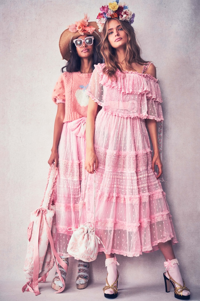 Pink styles stand out for LoveShackFancy resort 2020 lookbook