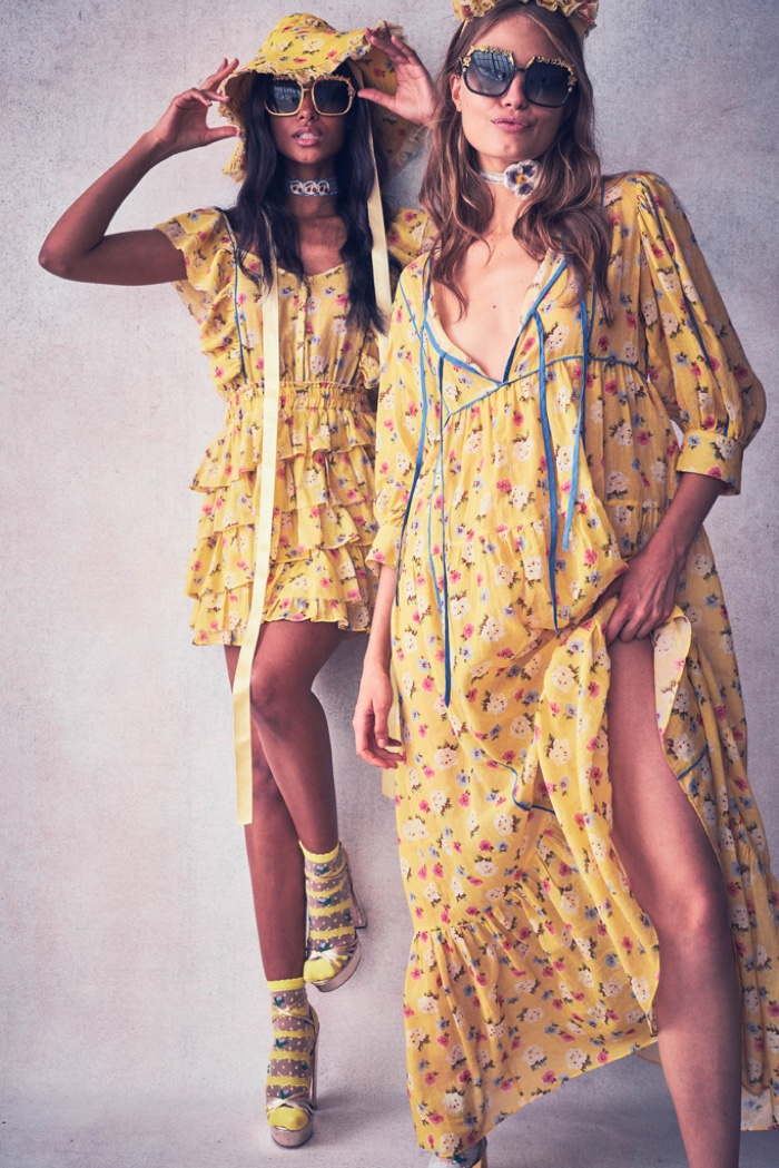 Yellow hues stand out in LoveShackFancy resort 2020 collection