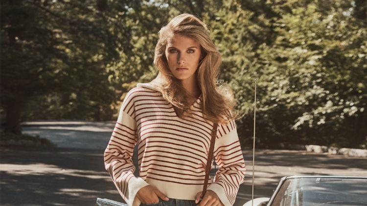 Madison Headrick Channels 1970's Fashion for Bergdorf Goodman
