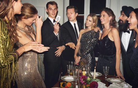 Mango unveils Intimate Dinner party 2019 editorial