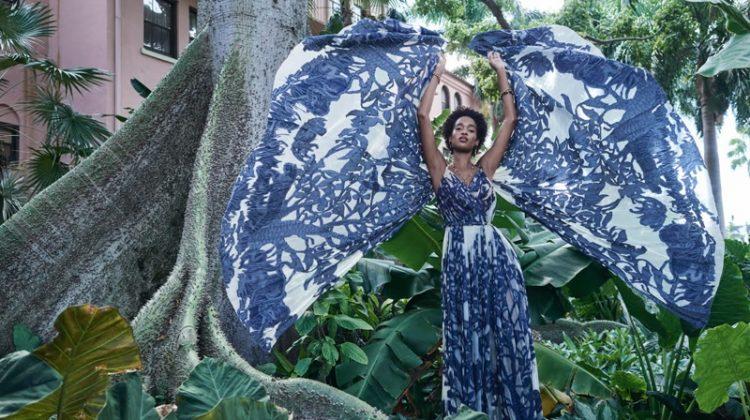 Marihenny Rivera Enchants in Dior for Haute Living