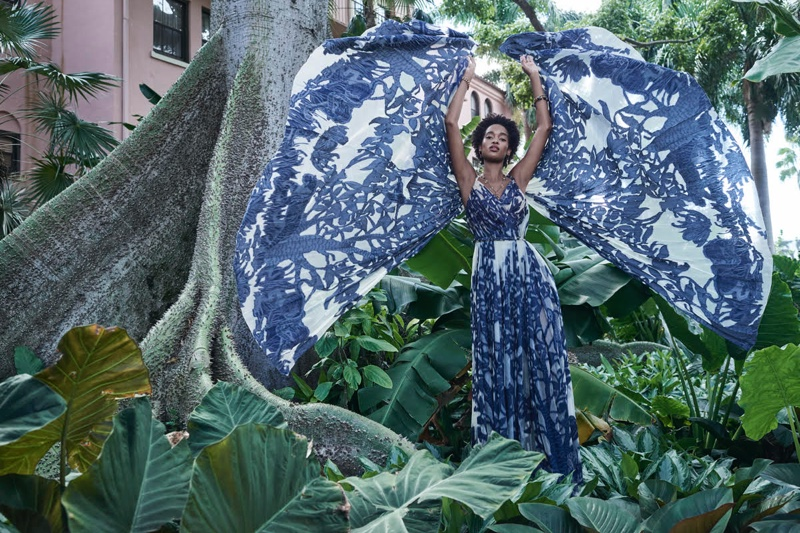 Marihenny Rivera Enchants in Dior for Haute Living