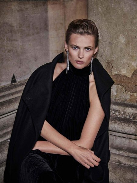 Edita Vilkeviciute Tries On Massimo Dutti's Night Out Looks
