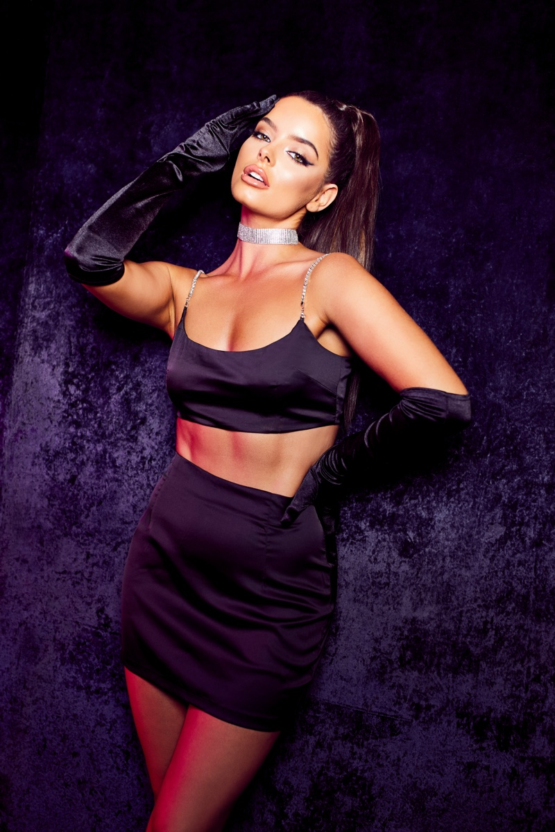 Maura Higgins stars in Boohoo Party Edit campaign
